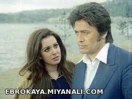 فخرالدین  در کنار هنرپیشه  معروف سینمای ترکیه