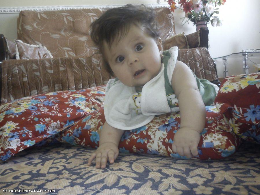 عکس چالب از بچه با نمک