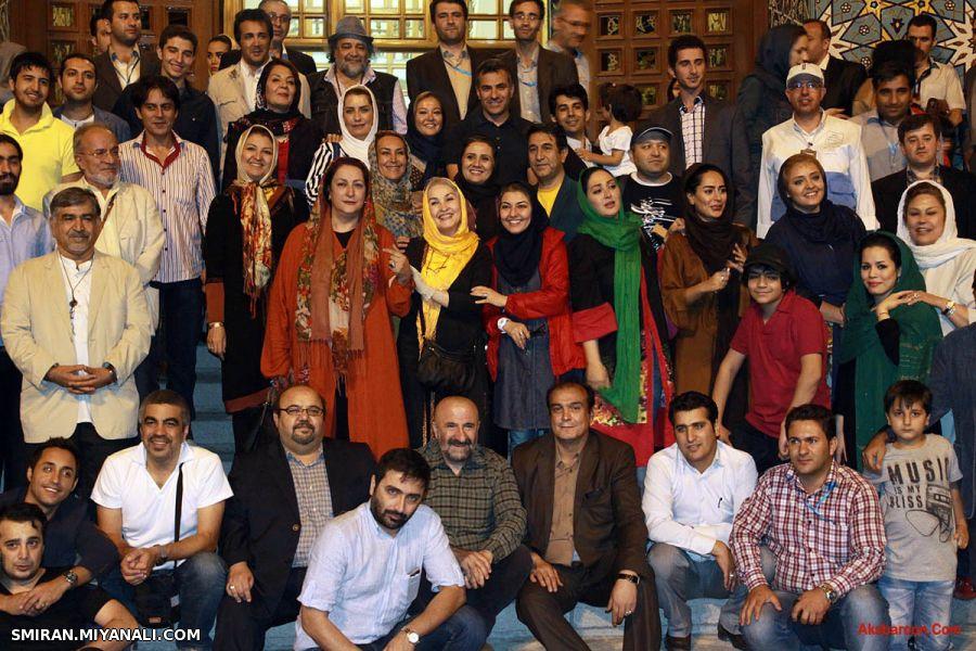 عکس دسته جمعی بازیگران در تبریز