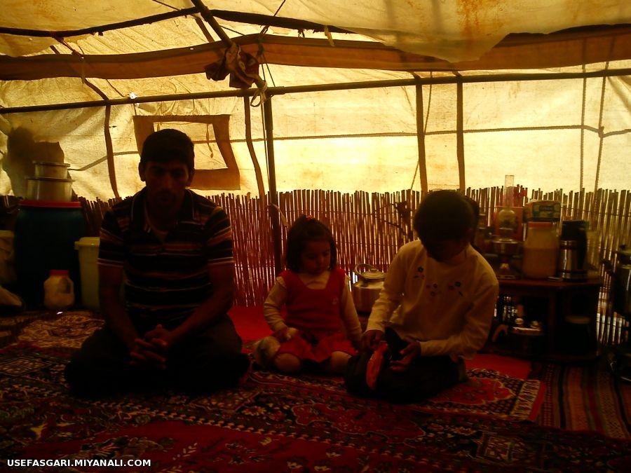 کودکان محروم عشایر و زندگی در چادر