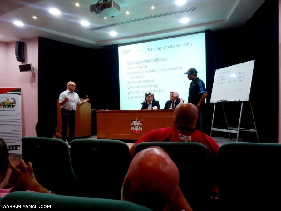 دریافت مدرک مربیگری بین المللی پاورلیفتینگ lPF در کشور امارات (دبی)