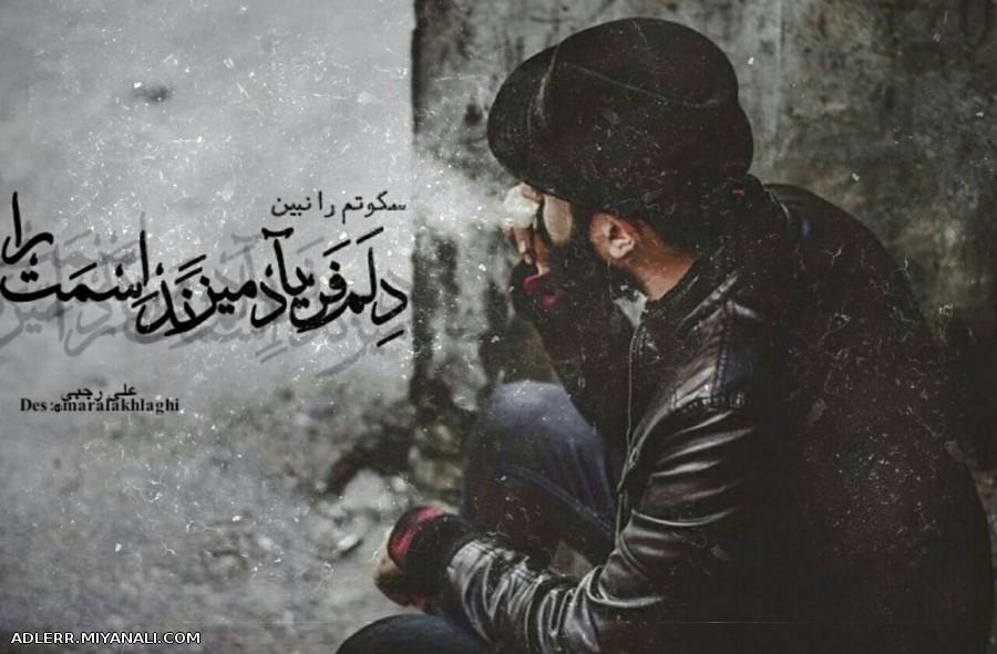 سکوتم را نبین  دلم ...