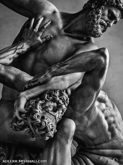 """الههی """"داداش عمرا اگه بذارم حساب کنی"""" یونان باستان :)"""