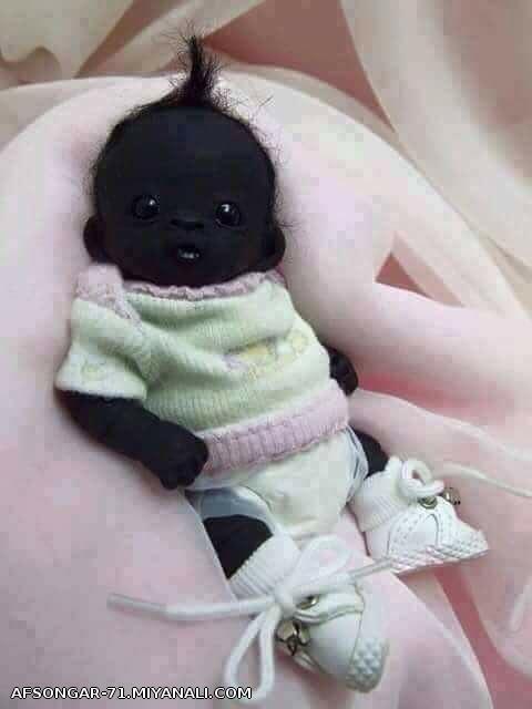 سیاه ترین نوزاد قرن 21