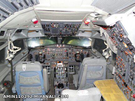 کاکپیت هواپیمای 727
