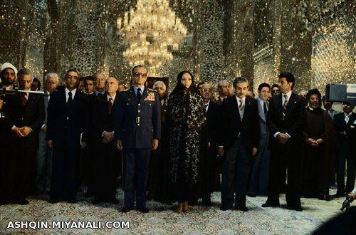 شاه و فرح پهلوی