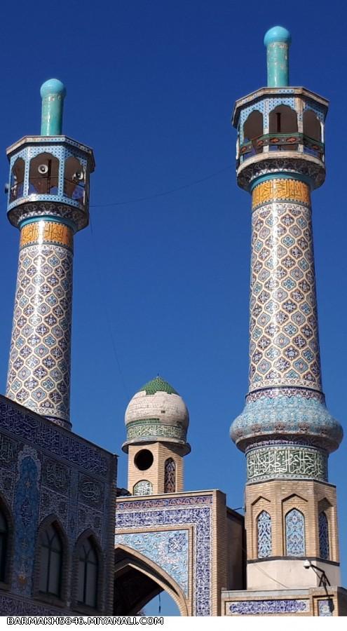 مسجد جامع شهرستان ویژه میانه
