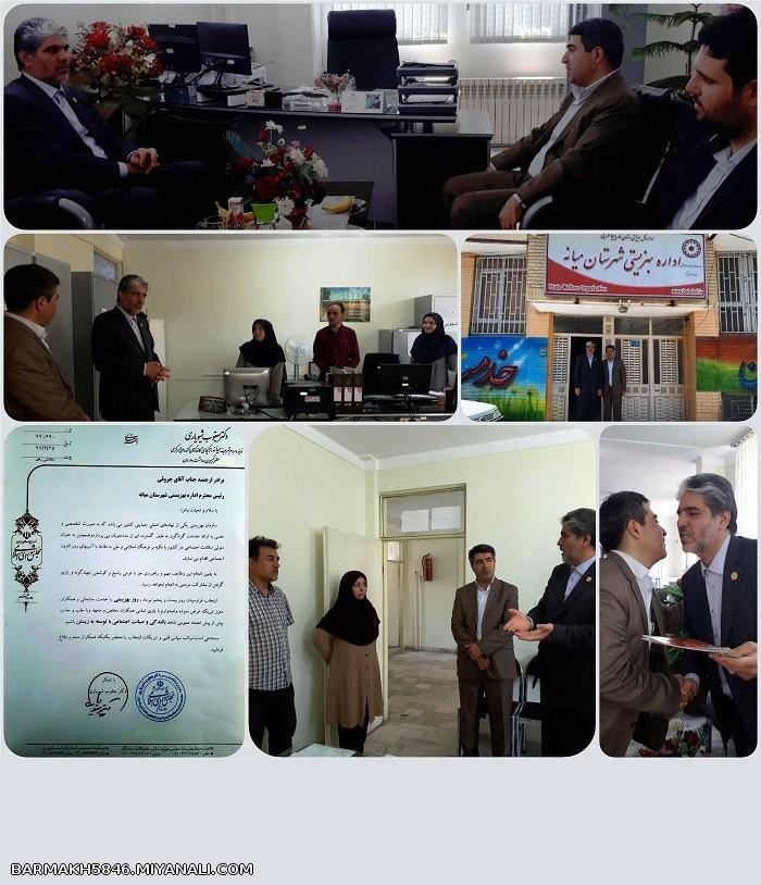 دیدار دکتر یعقوب شیویاری نماینده مردم شریف میانه در مجلس شورای اسلامی