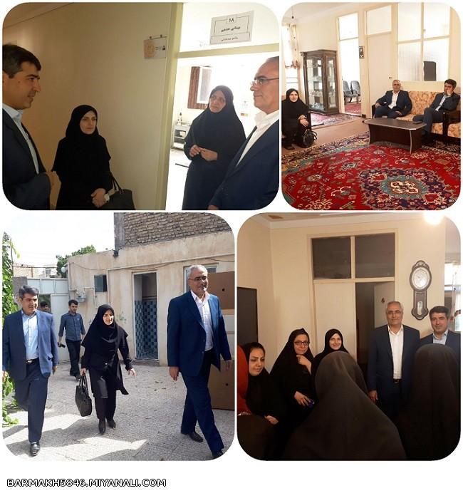 دیدار مدیرکل بهزیستی استان آذربایجان شرقی
