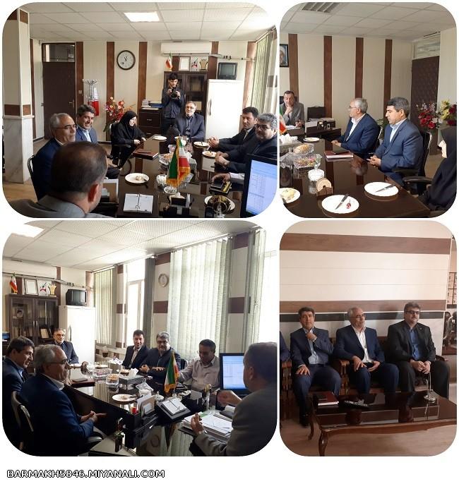 دیدار مدیرکل بهزیستی استان آذربایجان شرقی با سرپرست فرمانداری ویژه میانه