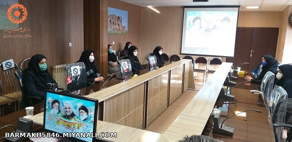 برگزاری مراسم بزرگداشت سالروز پیروزی شکوهمند انقلاب اسلامی، در بهزیستی شهرستان میانه