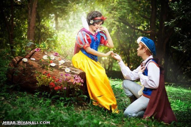 عاشقانه در دل جنگل