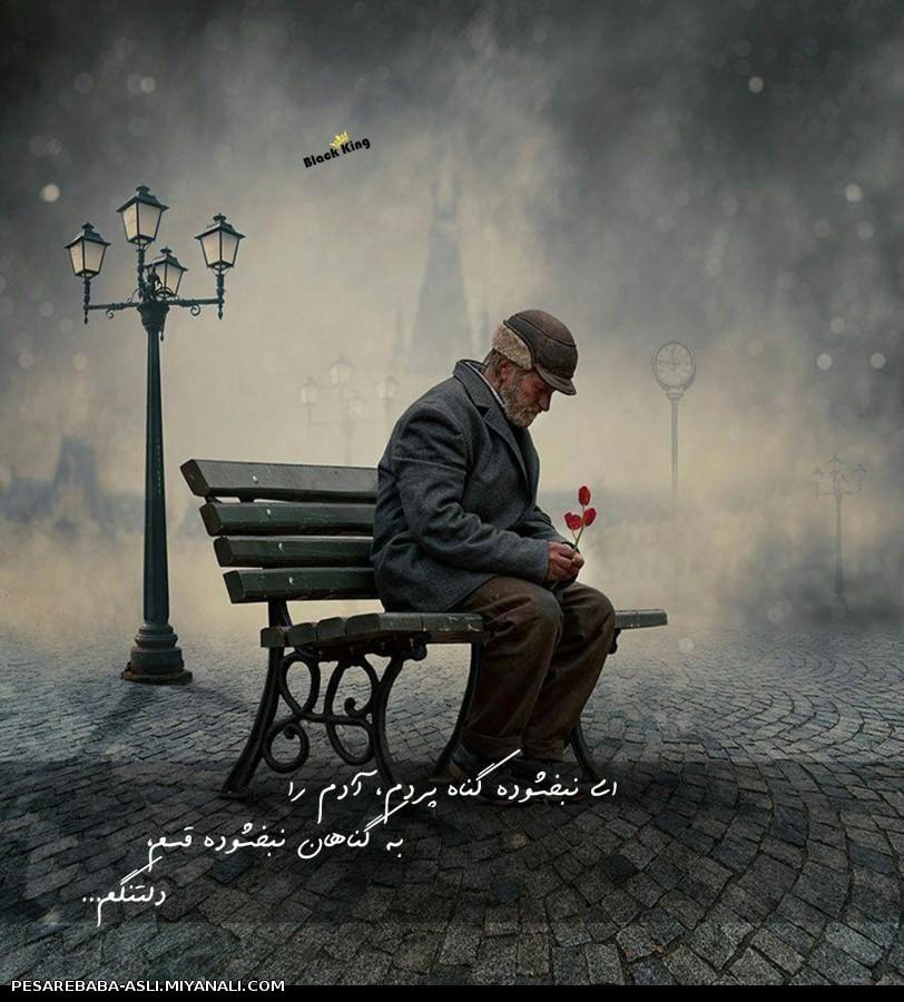 من چه در وهم وجودم ، چه عدم ، دل تنگ ام از عدم تا به وجود آمده ام ، دل تنگ ام...