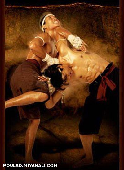 حرکتی بسیار زیبا ازسلطان ورزش های رزمی  موی تای بوکسینگ