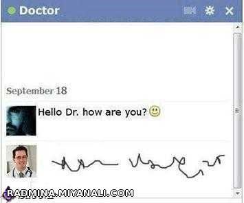 hello, dr how are you????(لطفا همگی بیاین)