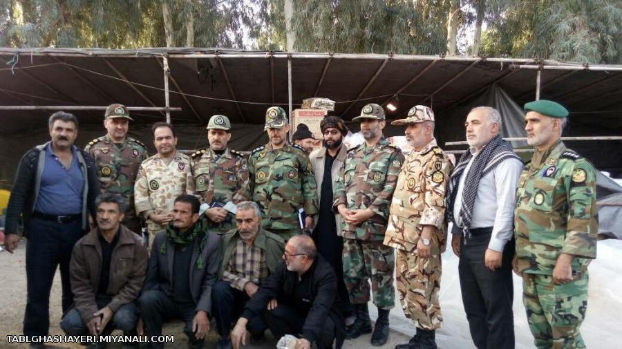 موکب قشقایی ها نماینده قوم قشقایی در کرمانشاه