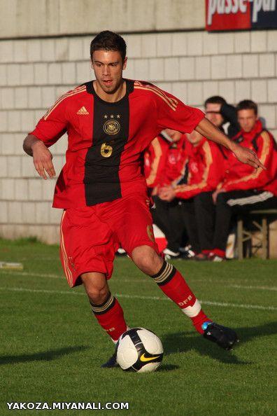 شروین رجبعلی فرد . در لباس تیم ملی آلمان