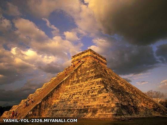 چیچن ایتزا اثری باستانی از تمدن مایا است که در کشور مکزیک واقع شده است