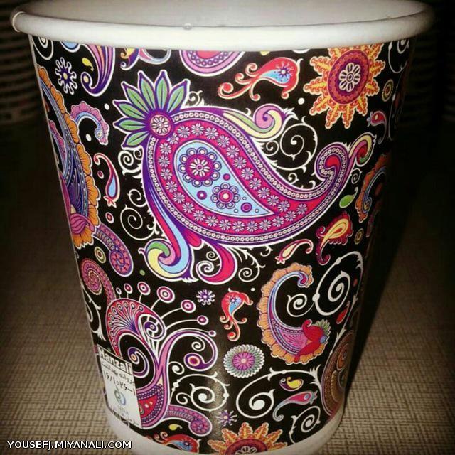 لیوان کاغذی 220cc
