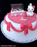 کیک تولد...