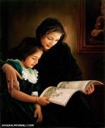 من مادرت هستم که بهشت در دستان من بود