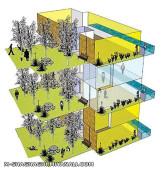 طرح احداث باغ آپارتمان