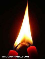 در شب تاریک گویی،شمع یا مهتاب کو