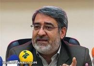 وزیر کشور:  امنیت ابراهیم وار در کشور حاکم است (توضیحات)