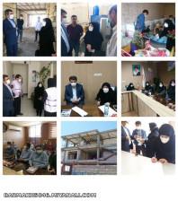بازدید مدیرکل بهزیستی استان آذربایجان شرقی از اداره بهزیستی، موسسات و مراکز غیردولتی شهرستان میانه
