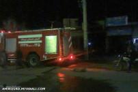 آتش سوزی در شهرک ولیعصر