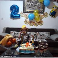 تولد تایم #تولدت مبارک اوشگل پسر