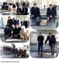 تجدید میثاق با آرمان های انقلاب اسلامی و مقام شامخ شهیدان