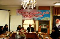 شهردار میانه در جلسه شورای دانش آموزی