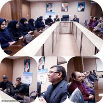 جلسه روشنگری و بصیرتی در پایگاه شهید بهشتی اداره بهزیستی شهرستان میانه