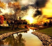 دنیای زیبای پاییز