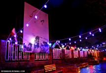 دهه فجر مبارک باد/ مقابل ساختمان شهرداری میانه