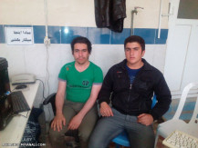 امین داودی و عباس بلخی