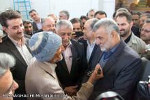 گفنتگو وزیر محترم جهاد کشاورزی با کشاورز طبسی