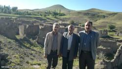 تصویری از روستای فراموش شده قره زیارات