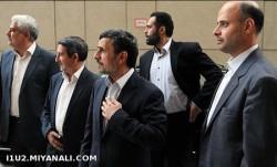 دست به اسلحه شدن محافظ احمدی نژاد