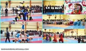 جشنواره ژیمناستیک و سرود مهدکودک و پیش دبستانی های شهرستان میانه