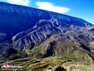 عکس یک  امام زاده در عمق کوهستانهای دره شهر