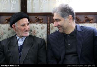 استاندار محترم آذربایجان و پدر سه شهید بزرگوار